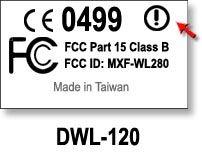 DWL Wireless GHz (b) USB Adapter