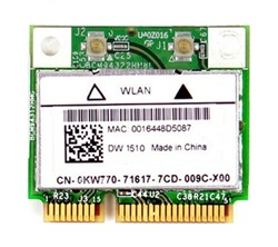 Dell Wireless 1510 PCI-E WLAN Half-Height Mini-Card