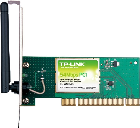 Tp Link Tl Wn350g 54mbps Wireless Pci Adapter Driver Download
