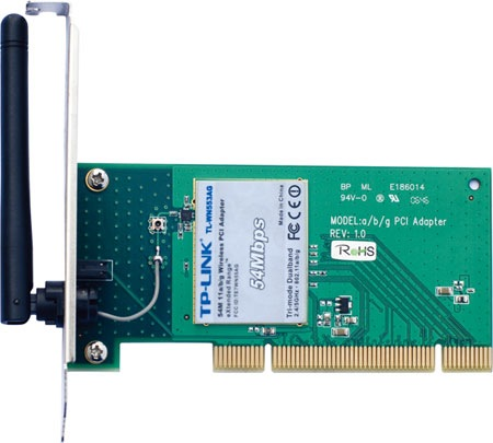 Drivers for TP-LINK 11b/g Wireless Adapter