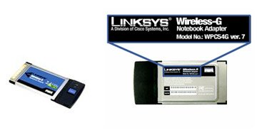 Linksys wpc54g ver. is really v2