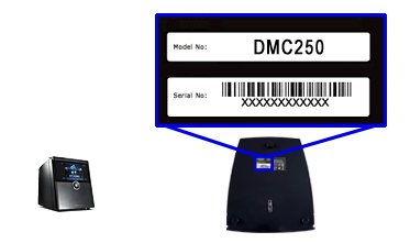 Support Serial DMC250 Close-up Image
