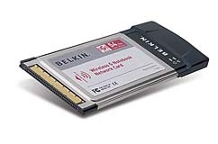 Belkin Wireless G MIMO Notebook Card WiFi 150640C9300397 CardBus