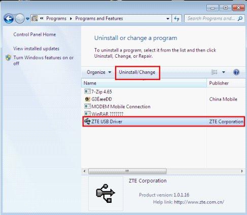 Драйвер zte wcdma technologies msm для windows 10