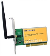 Netgear WG311v1 54Mbps Wireless PCI Adapter