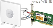 Netgear WN311B RangeMax NEXT PCI Wireless Adapter