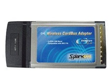 Sparklan WL-611R Cardbus Adapter