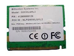 Billionton GMIWLGRL2 WLAN MiniPCI Card