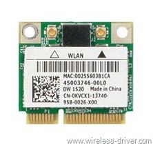 Dell-Wireless-WLAN-1520-Half-MiniCard