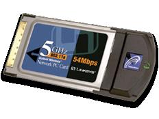 Linksys WPC54A Wireless PC Card