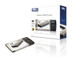 Sweex LW056V2 Wireless 54G PC Card