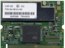 TI TNETW1130GVF mini-pci wireless card