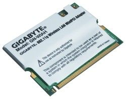 Gigabyte GN-WIAH (mini) PCI WLAN Card