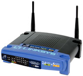 Linksys Dual-Band Wireless A+G Broadband Router