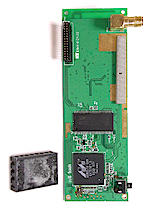 WL-530g radio board detail 1