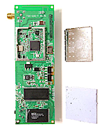 WL-530g radio board detail 2