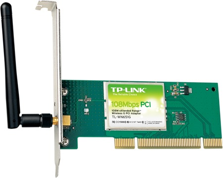 TP-Link TL-WN651G 108Mbps Super G Wireless PCI Adapter Windows