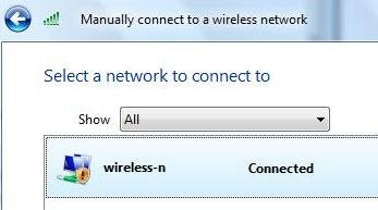 Create a Secure Wireless Network Profile on Windows Vista