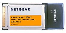 Netgear WN511T RangeMax Next Wireless Notebook Adapter