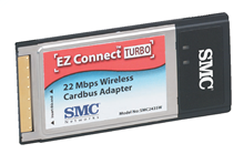 SMC2435W EZ Connect Turbo 802.11b Wireless Cardbus