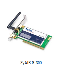ZyXEL G-300 802.11g Wireless PCI Adapter